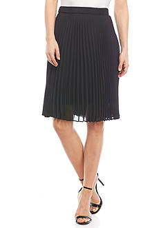 Kim Rogers Petite Pleated Skirt