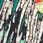 Petite Blouses: Paradise Hidden Kim Rogers Petite Printed Button Down Tank