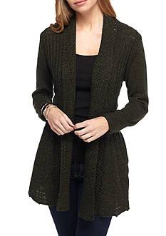 Kim Rogers Petite Long Sleeve Sweater