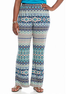 Kim Rogers Women's Plus Biadere Pants
