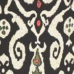 Kim Rogers Plus Size Clothing: Noir Kenya Kim Rogers Plus Size Border Print Pants