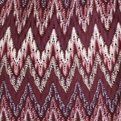 Kim Rogers Women's Plus Sale: Purple Varese Kim Rogers Plus Size Sharkbite Scoop Knit Top