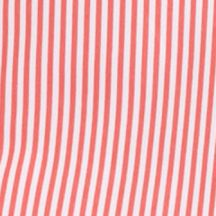 Plus Size Blouses: Coral Stripe Kim Rogers Plus Size Striped Camp Blouse