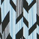 Kim Rogers Women's Plus Sale: Sky Icearrow Kim Rogers Plus Size Striped Camp Shirt