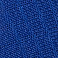 Kim Rogers Women's Plus Sale: Delta Blue Kim Rogers Plus Size Fanstitch Knit Cardigan