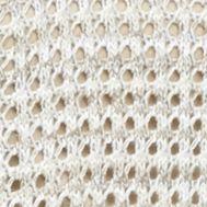 Jeanne Pierre Women Sale: Neutral Combo Jeanne Pierre Open Knit Shark-Bite Sweater