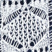 Jeanne Pierre: Navy Combo Jeanne Pierre Open Knit Sweater