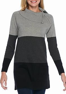 Jeanne Pierre Long Sleeve Stripe Tunic