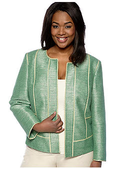 Jones New York Collection Plus Size Fitted Jacket