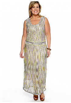 Jones New York Collection Plus Size Maxi Dress