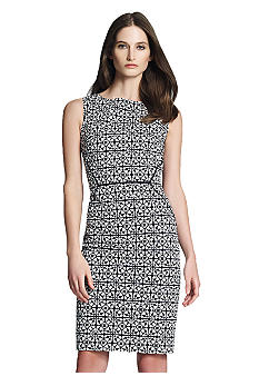 Jones New York Collection Sleeveless Printed Dress