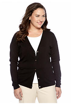 Jones New York Collection Plus Size Cardigan