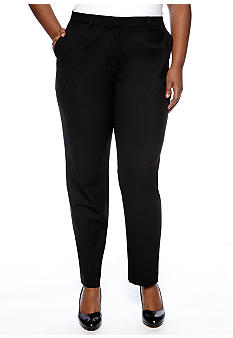 Jones New York Collection Plus Size Skinny Trouser