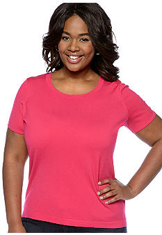 Jones New York Collection Plus Size Knit Tee