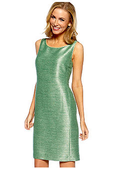 Jones New York Collection Textured Shift Dress