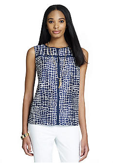 Jones New York Collection Sleeveless Blouse