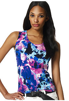 Jones New York Collection Petite Sleeveless Shell