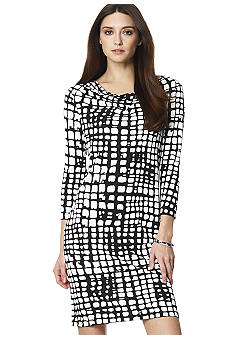 Jones New York Collection Cowl Neck Dress