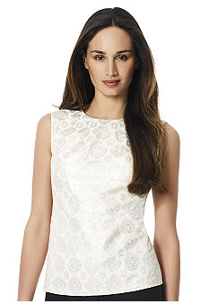 Jones New York Collection Sleeveless Shell