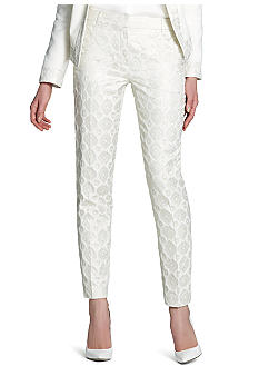 Jones New York Collection Runway Slim Crop Pant