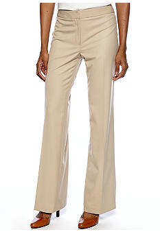 Jones New York Collection Flat Front Pant