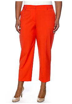 Jones New York Collection Plus Size Crop Skinny Pant