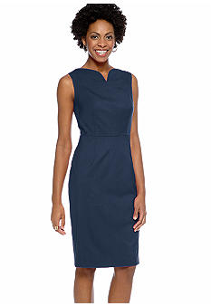 Jones New York Collection Dress With Sweetheart Neckline