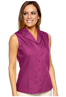 Jones New York Collection Petite Sleeveless Blouse