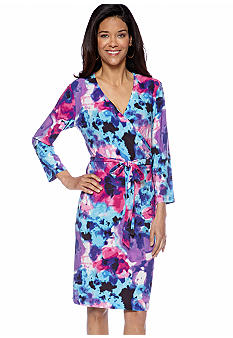 Jones New York Collection Wrap Dress