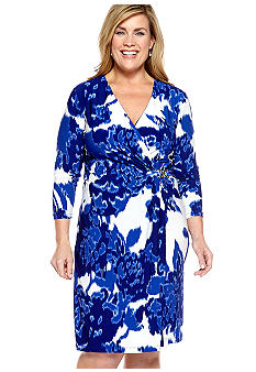 Jones New York Collection Plus Size Wrap Dress