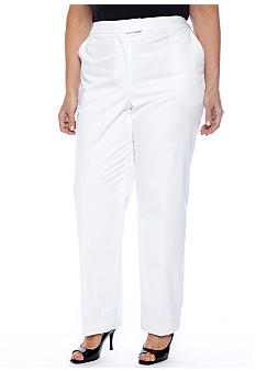 Jones New York Collection Plus Size Slim Pant