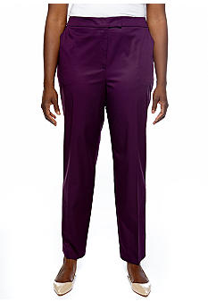 Jones New York Collection Plus Size Slim-Leg Pant