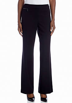 Jones New York Collection Zoe Zip Detail Pant