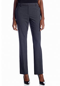 Jones New York Collection Ribbon Trim Stovepipe Pant