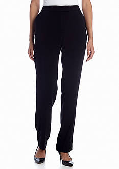 Jones New York Collection Stovepipe Straight Leg Pant