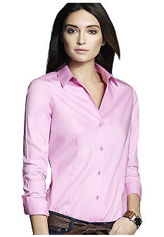 Jones New York Collection Petite Easy Care Long Sleeve Shirt