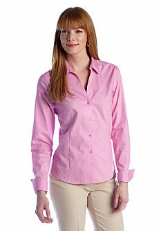Jones New York Collection Easy Care Long Sleeve Shirt