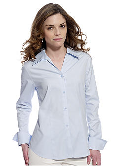 Jones New York Collection Petite Easy Care Blouse