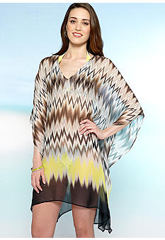 Vince Camuto Beverly Zig Zag Cover Up