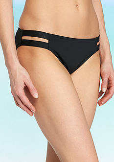 Vince Camuto Polish Strap Side Bikini Bottoms