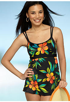 Mainstream Evening Floral Swim dress