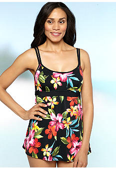 Bal Harbour Love Story Broad Band Swimdress