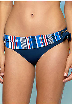 Bleu Rod Beattie Line Up Banded Hipster Swim Bottom