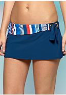 Bleu Rod Beattie Line Up Skirted Swim Bottom