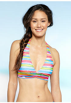 Bleu Rod Beattie Get Wet Banded Halter Bra
