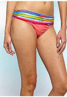 Bleu Rod Beattie Get Wet Shirred Hipster Bottom
