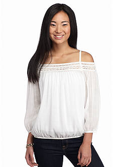 A. Byer Off The Shoulder Top