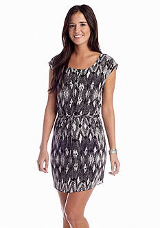 A Byer Tribal Shirt Dress