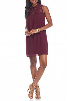 A. Byer Bow Back Dress
