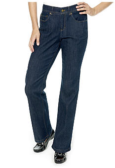 Jones New York Sport Petite Slim Boot Cut Jean